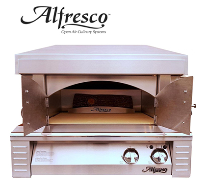 AWS Sells Alfresco Outdoor Pizza Oven