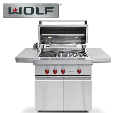 AWS Sells Wolf Outdoor Grill Carts
